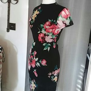 Floral dress..